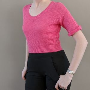NWT Urban Outfitters BDG cropped pink sweater